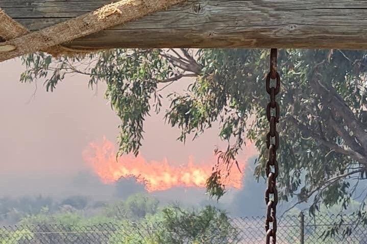 澳大利亚万迪纳地区发布火灾警报 多条公路已关闭