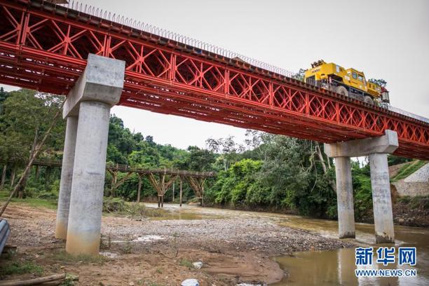 中国经验助力老挝减贫图片