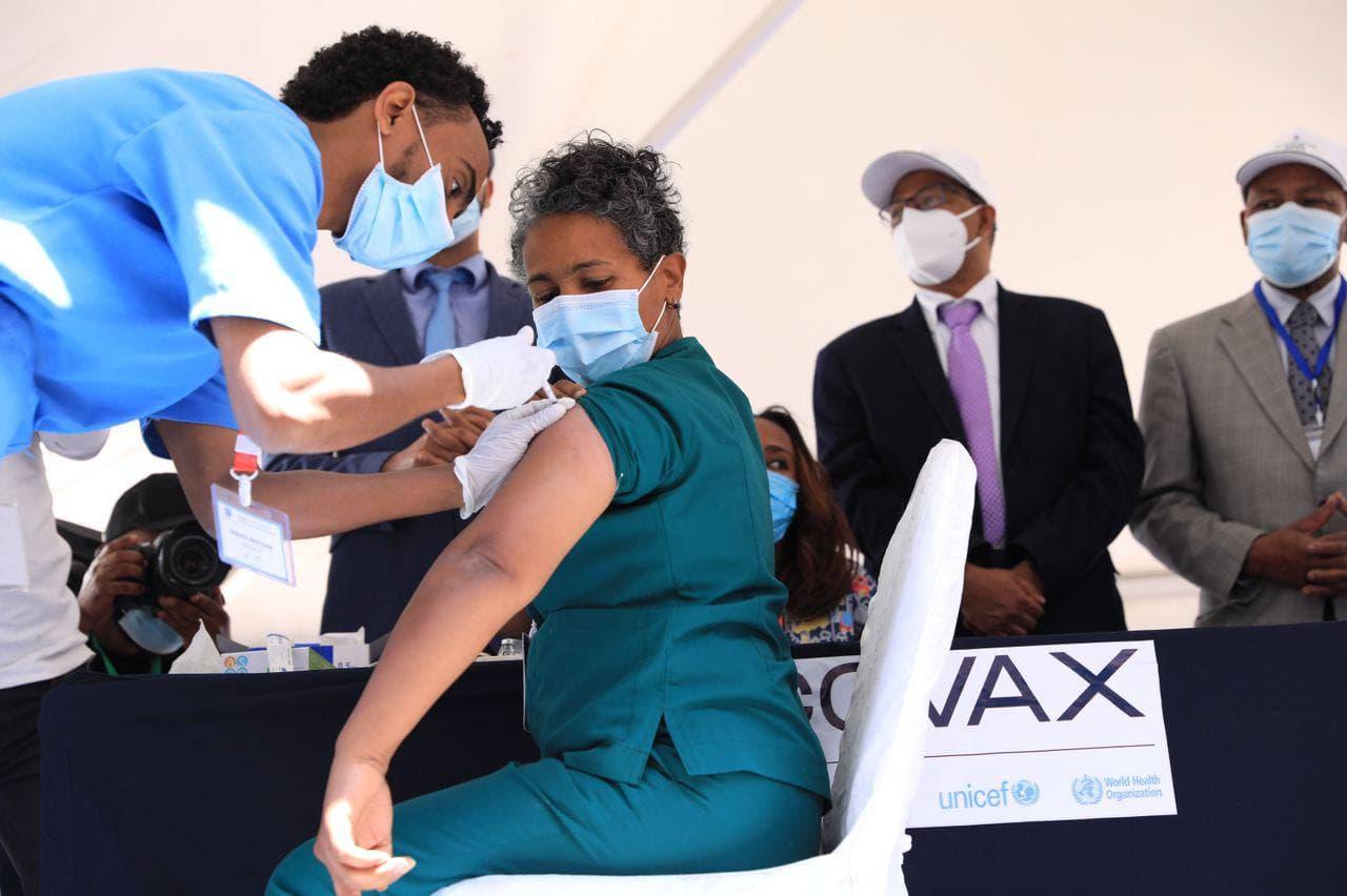 埃塞俄比亚在全国范围内开启疫苗接种计划