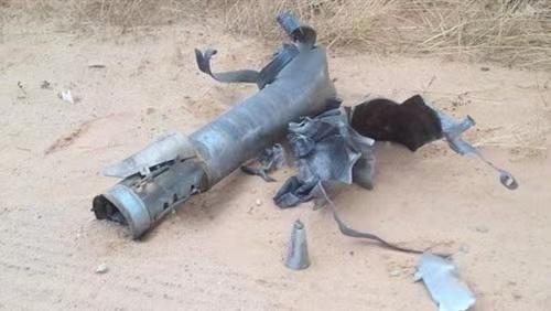 两枚弹道导弹落入沙特与也门边境无人区