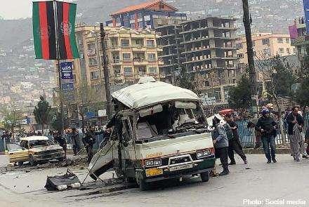 阿富汗首都喀布尔巴士爆炸事件 致5人死亡