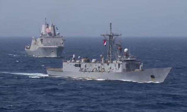 埃及与美国海军在红海举行联合军事演习