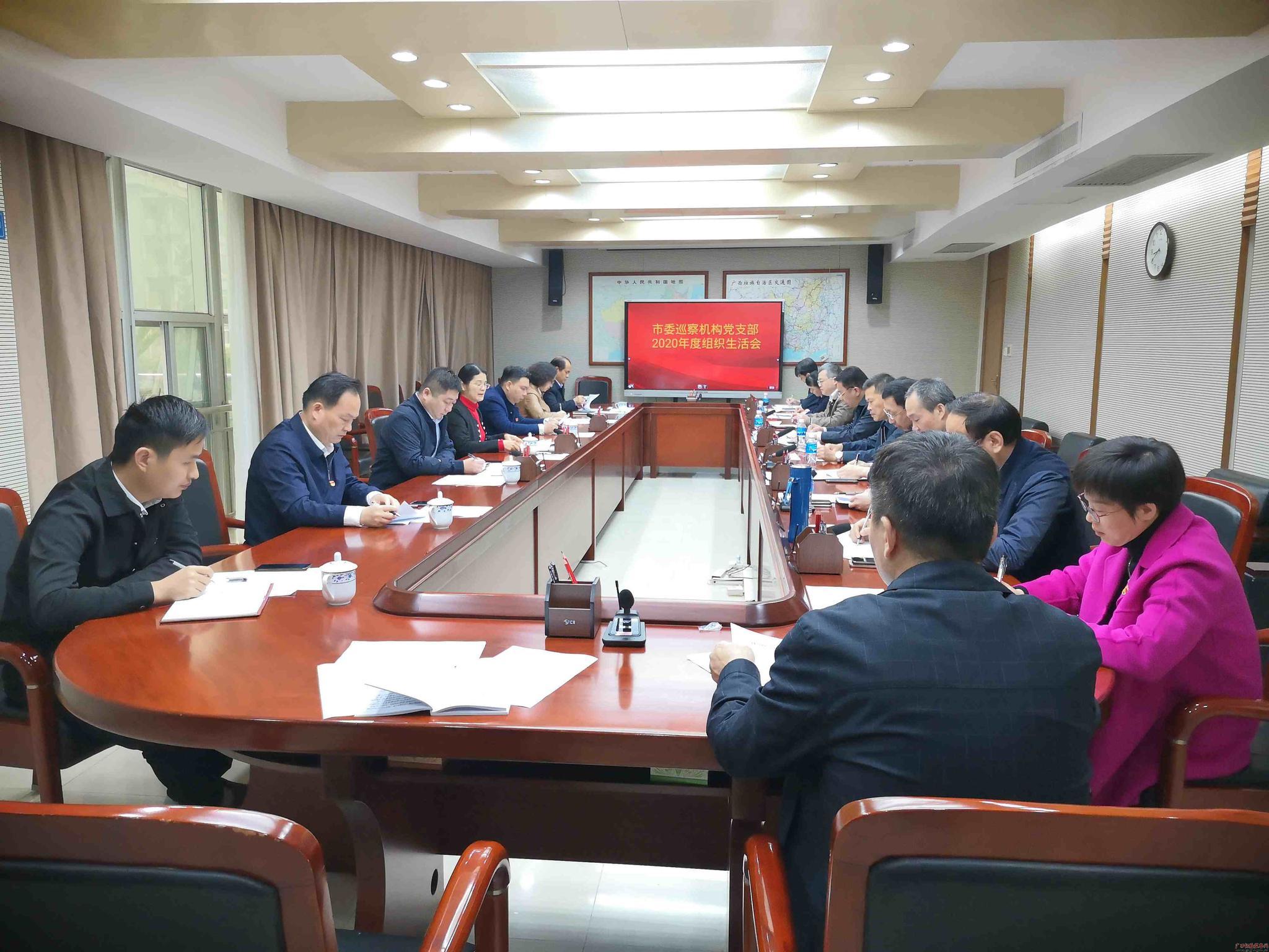 南宁市委巡察机构党支部丰富活动载体增强凝聚力战斗力图片