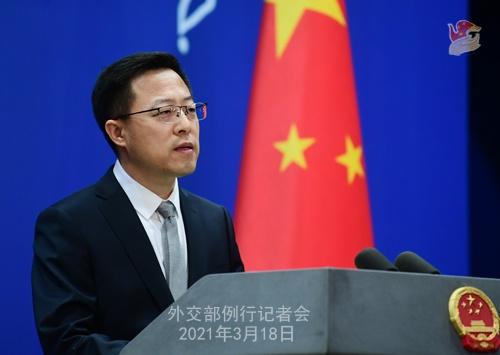 外交部发言人:中方将继续为朝鲜半岛和平发挥建设性作用图片