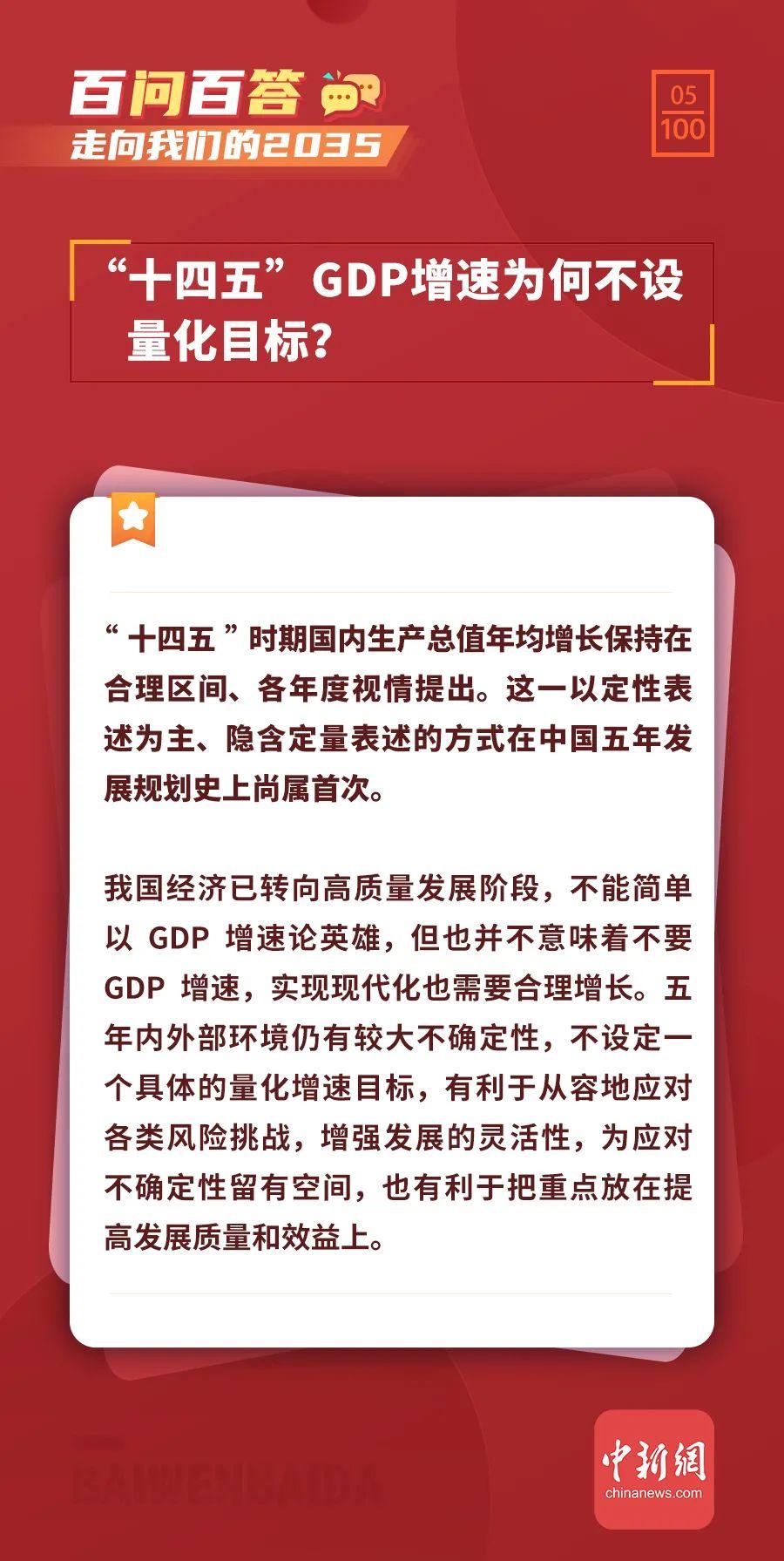 开封十四五gdp增速_十四五 GDP增速为何不设量化目标
