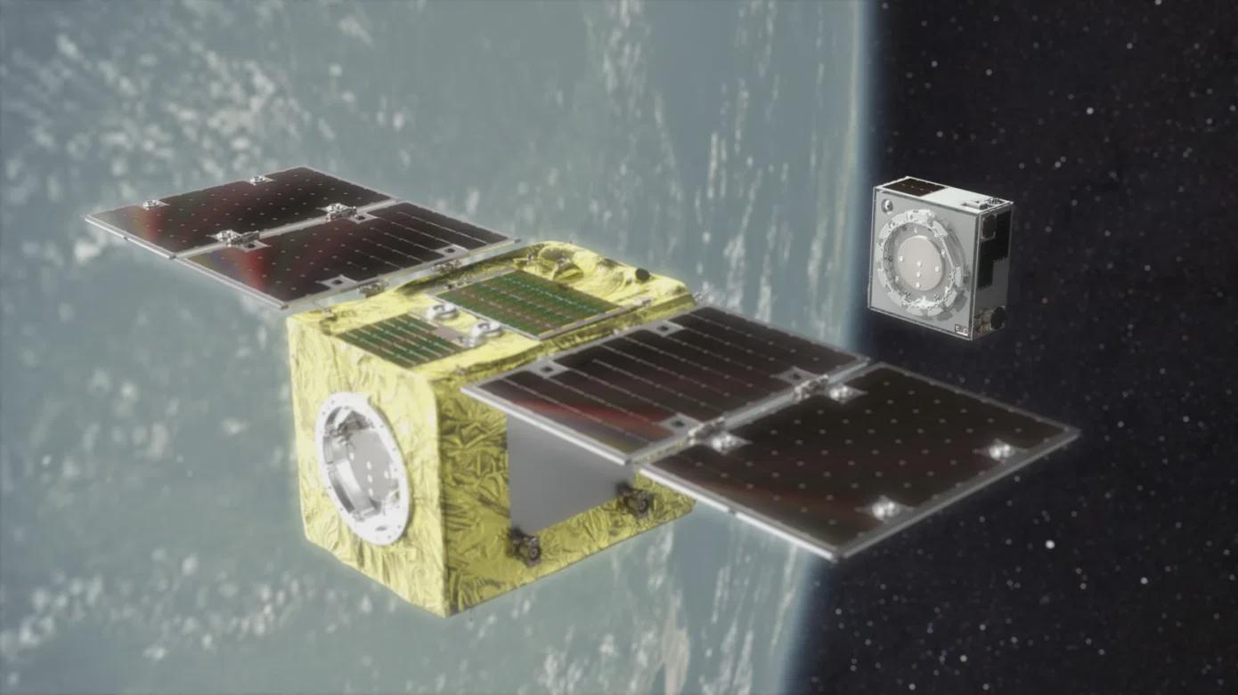 Astroscale发射ELSA-d轨道碎片清理卫星的示范星