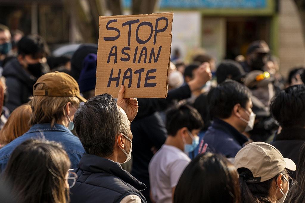 亚裔美国人谴责种族歧视现象:我害怕生活在这个国家