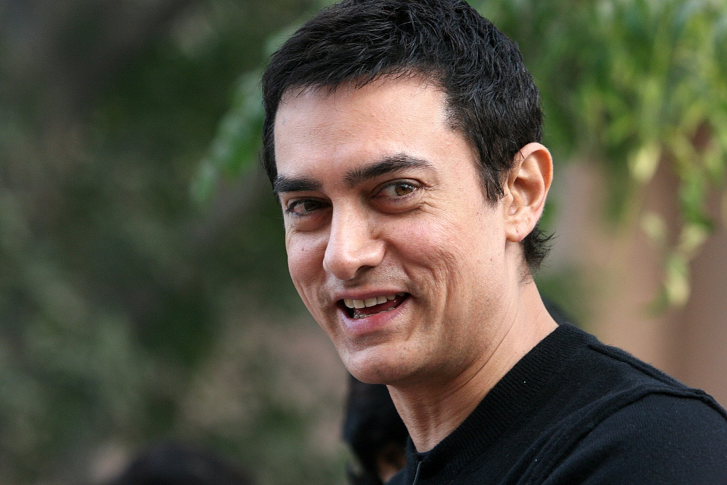 印度演员阿米尔-汗新冠病毒检测呈阳性