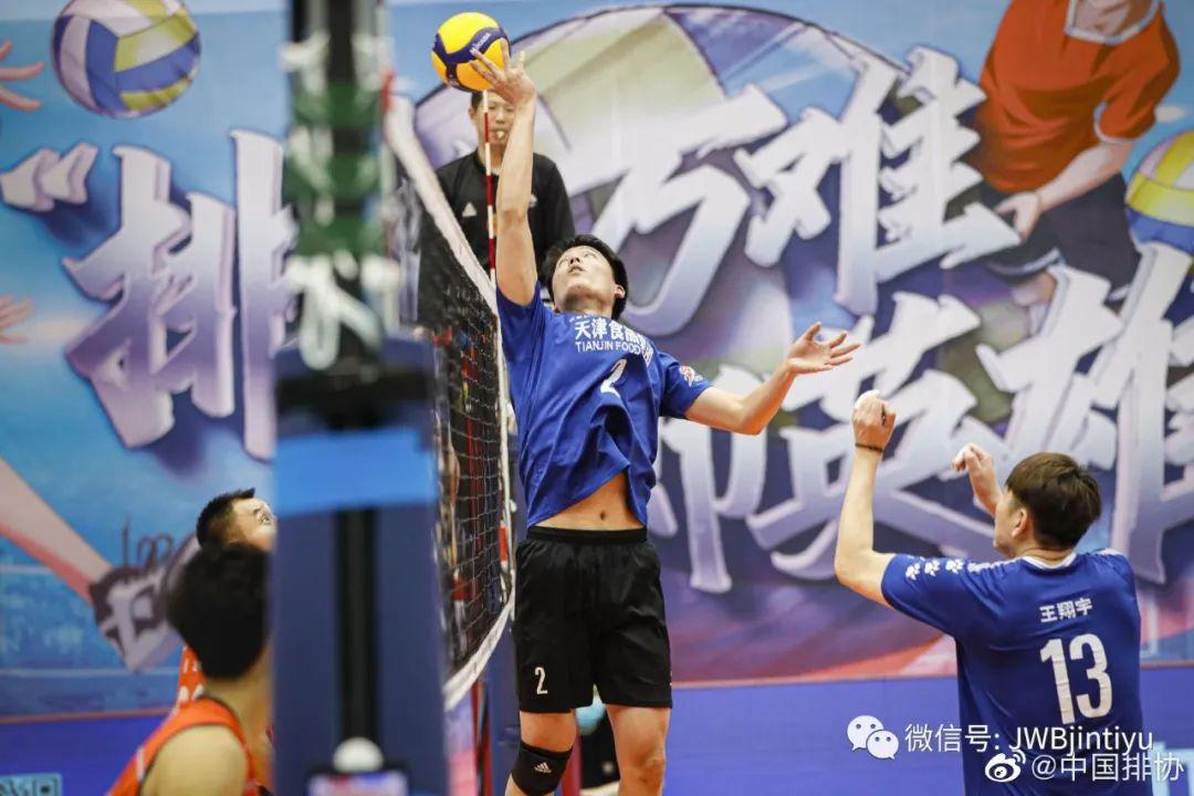 1-3不敌河南男排 天津男排获联赛第六创新高