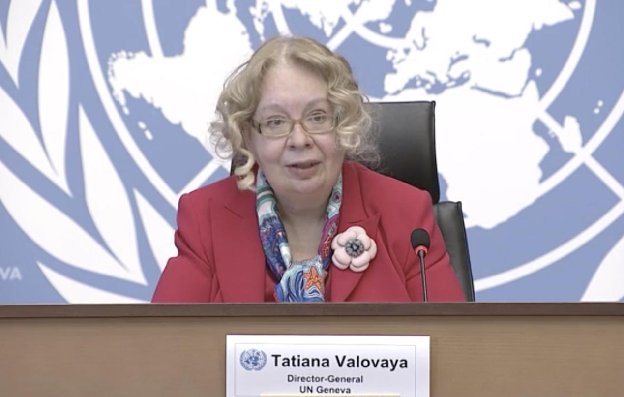 联合国日内瓦办事处总干事:中国是联合国重要组成部分 在多边主义中发挥重要作用图片