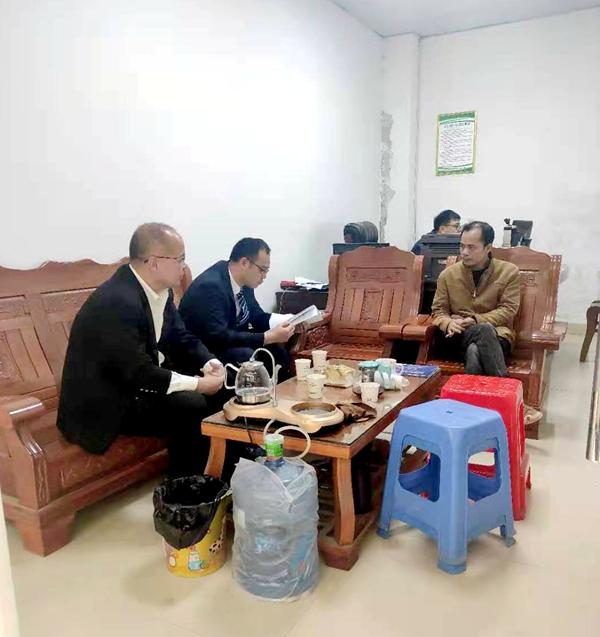 我为群众办实事丨浦北法院北通法庭:快速调解3起金融借款纠纷案图片