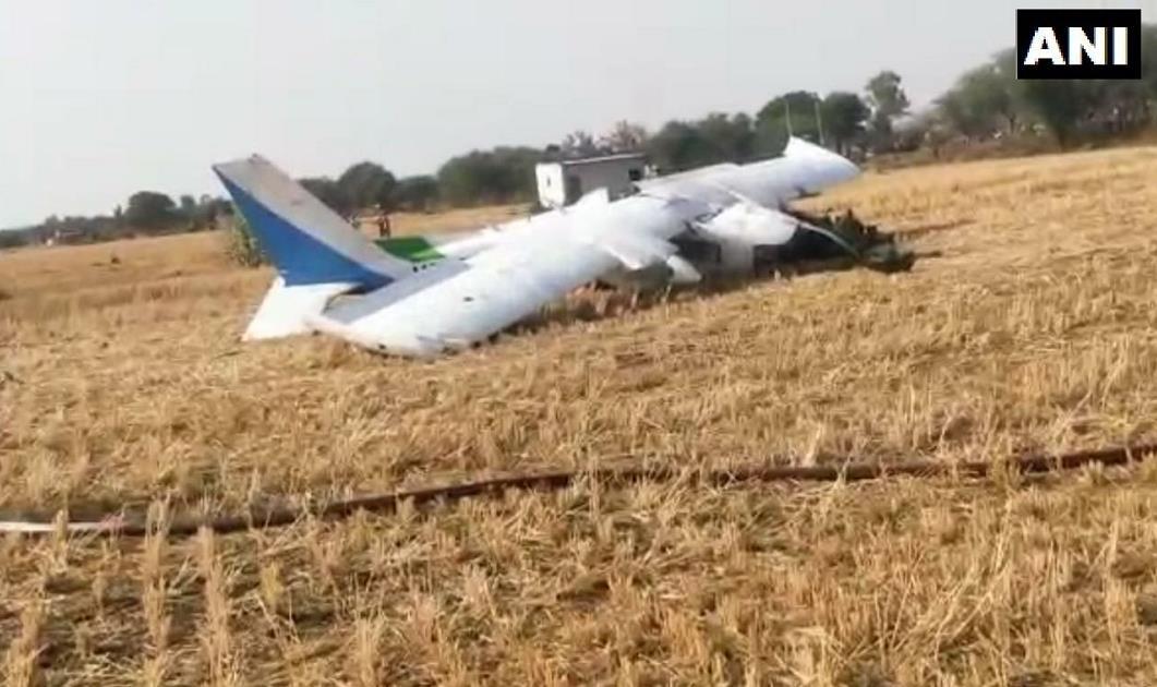 印度空军一架教练机坠毁 3人受伤