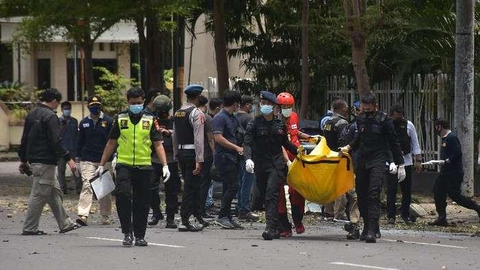印尼官方确认望加锡大教堂爆炸致2人死亡 20人受伤
