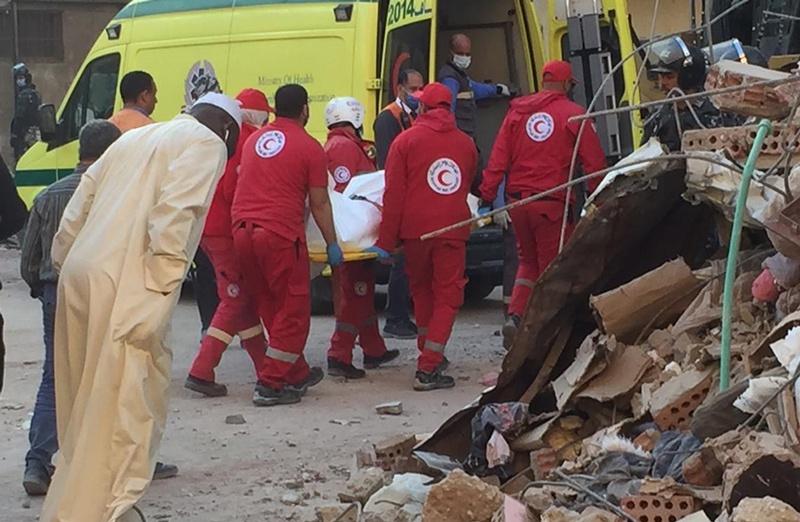 埃及开罗楼房倒塌事故致死人数增加至25人