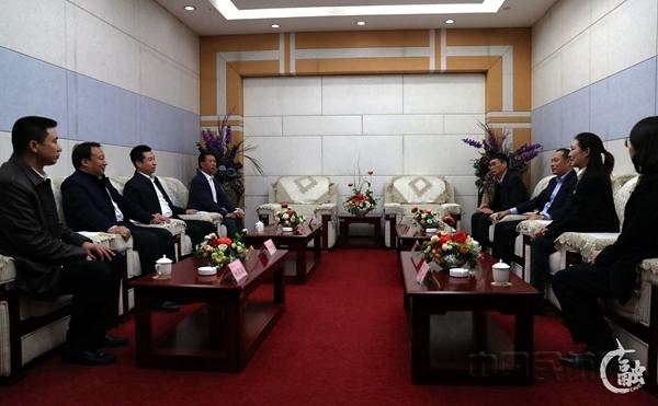 刘传健赴中国民航大学交流 受聘为客座教授