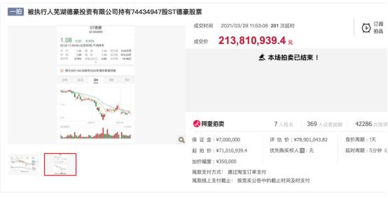 5.6万股东看呆:昔日小家电王ST德豪9年亏掉73亿 董事长花2亿接盘