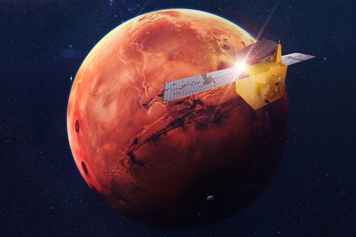 """阿联酋""""希望""""号火星探测器成功进入科学轨道"""