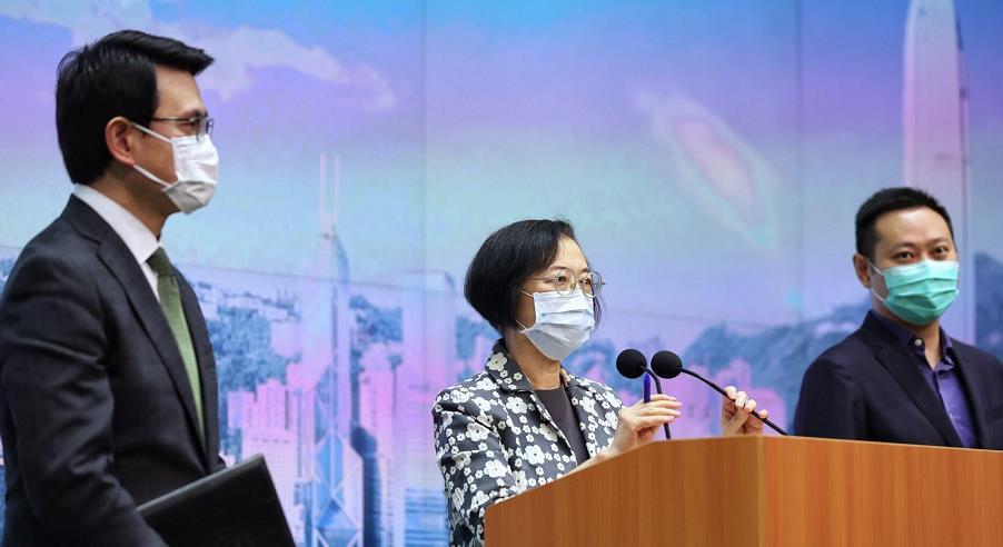 香港疫情逐渐缓和 特区政府计划下月起调整防疫措施图片