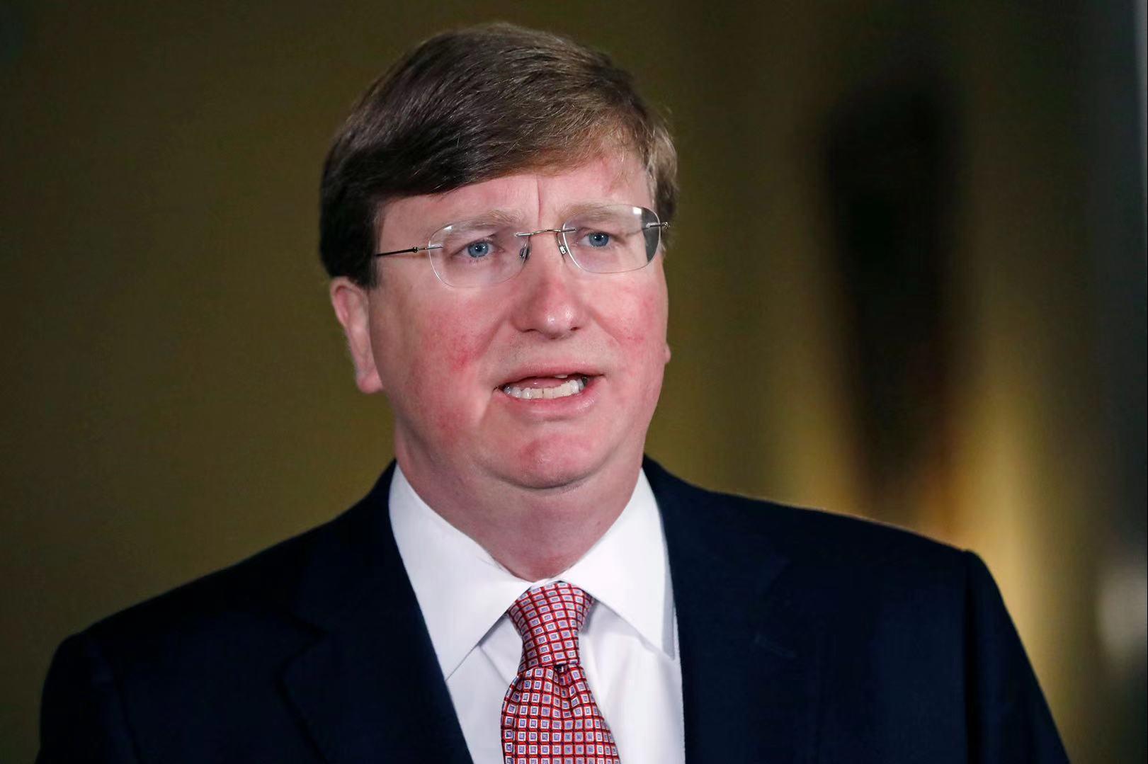 美国密西西比州取消口罩令 商家恢复原有客容量