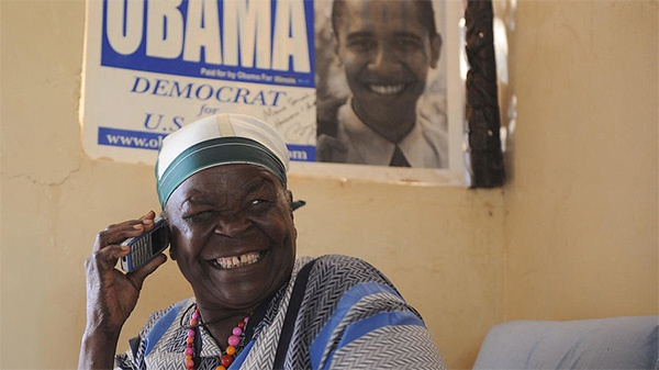 美媒:奥巴马继祖母在肯尼亚去世
