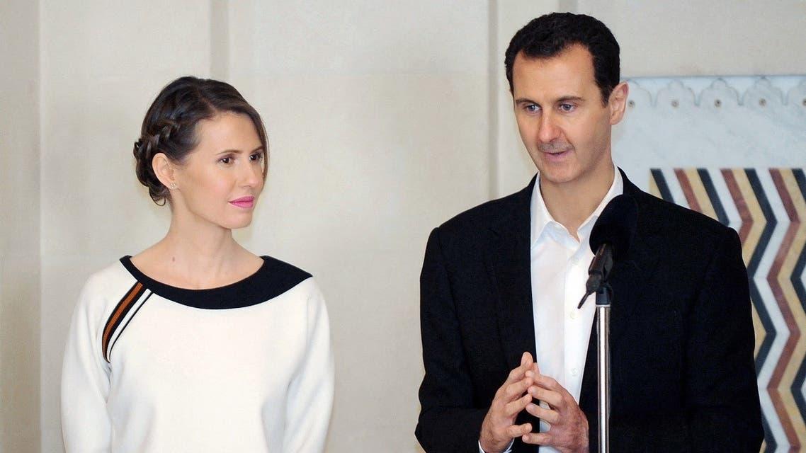 外媒:叙利亚总统夫妇感染新冠后康复 已经复工