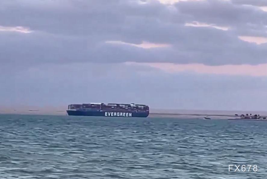 """""""长赐号""""运河搁浅事件落幕,全球贸易新一波压力开始"""