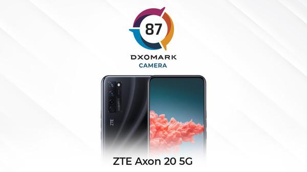 DXOMARK公布中兴天机Axon 20摄像头得分:87分
