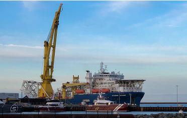 """俄罗斯将恢复""""北溪-2""""在丹麦海域的管道铺设工作"""