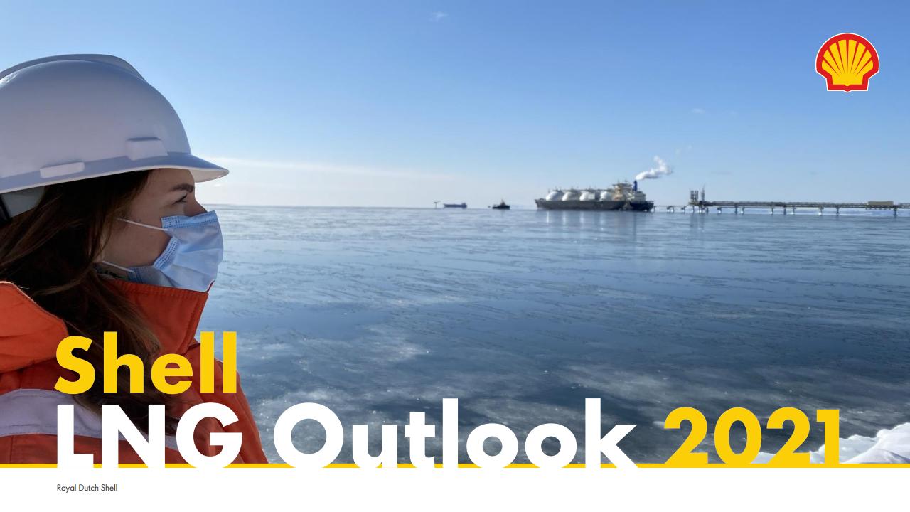 壳牌:2021年液化天然气(LNG)前景报告