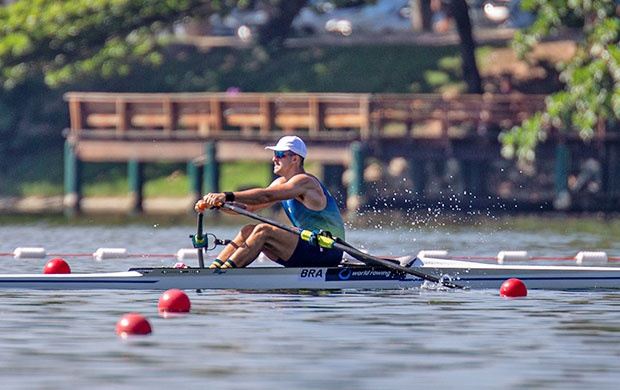 东京奥运会赛艇比赛美洲区资格赛在巴西里约举行