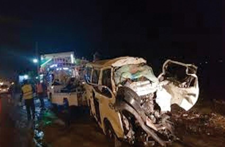 埃及吉萨省发生严重交通事故 已造成18人死亡