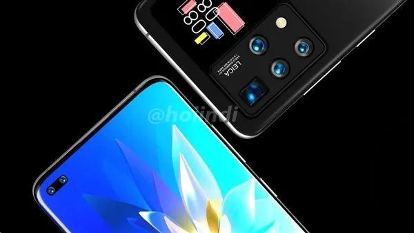 与小米11超大杯同方案,华为双屏手机渲染图现身