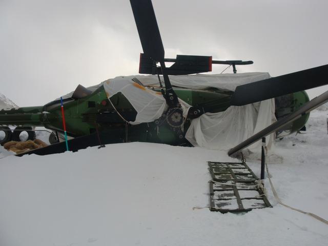 印军曾海拔5400米摔直升机,机修兵那次给力,修好飞机飞回去