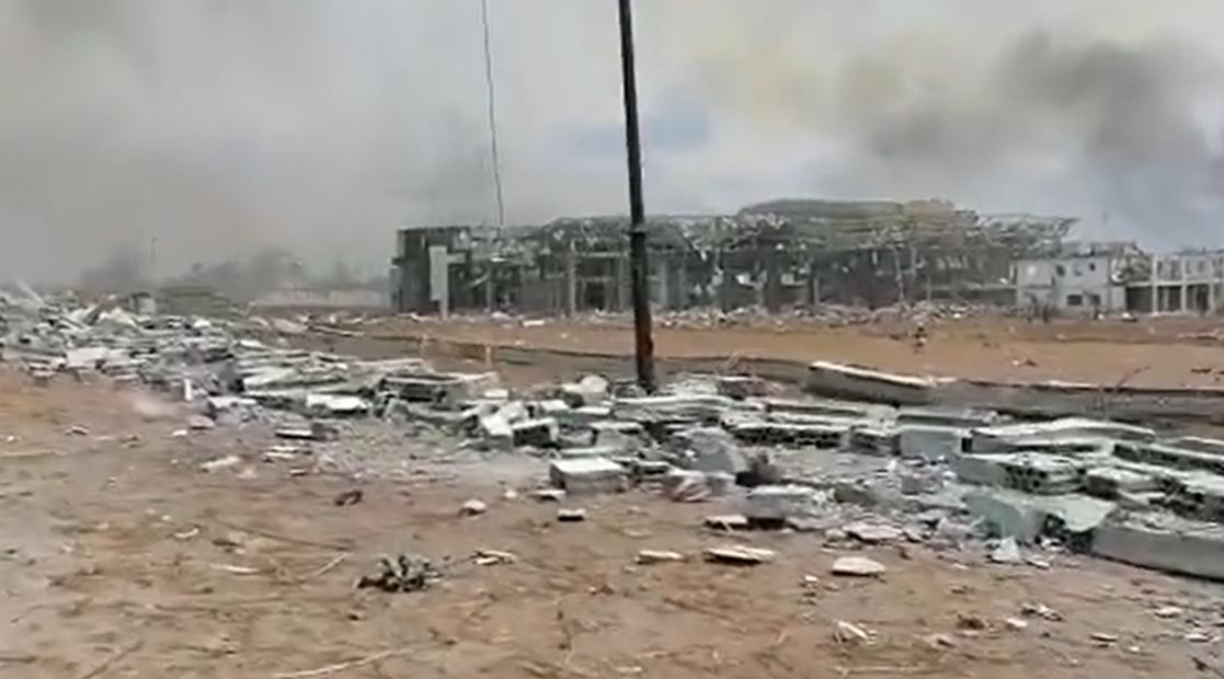 赤道几内亚军营4起大爆炸掀翻屋顶 有人员伤亡
