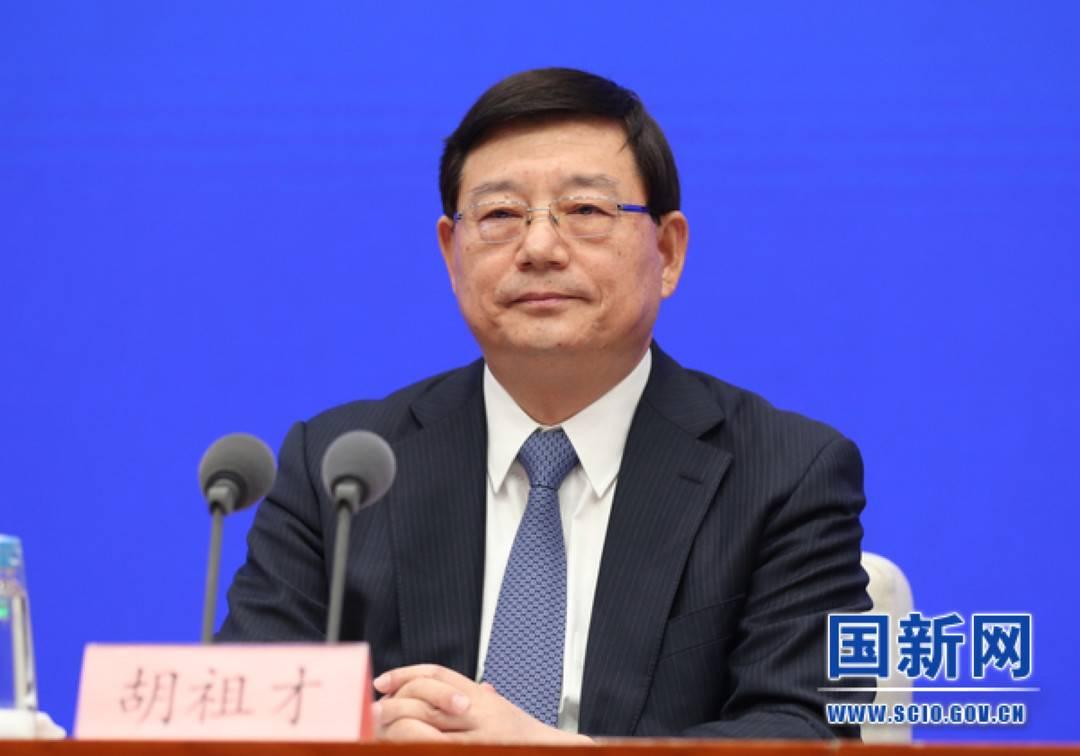 ***发改委副主任胡祖才。图片来源:国新办网站