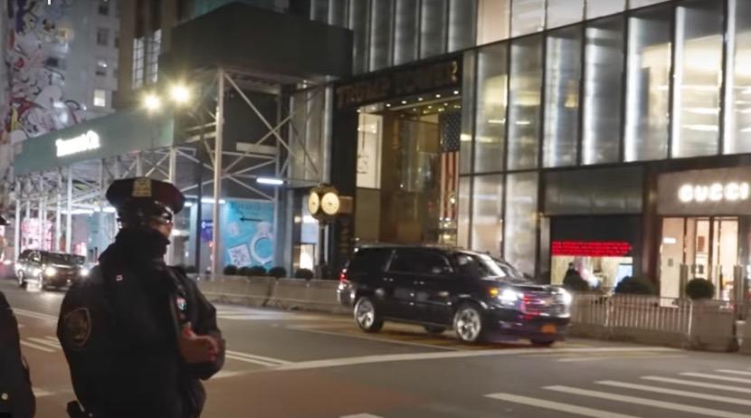 特朗普卸任后第一次回纽约 现场只有一人迎接……