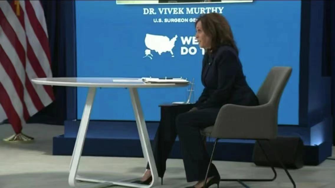 美国副总统哈里斯:四月是美国防疫的关键节点