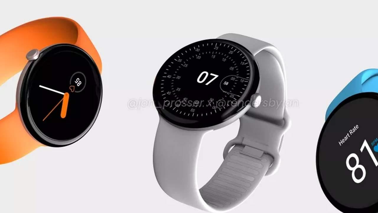 爆料者制作Pixel Watch渲染图:超薄表盘 有望搭载高通芯片