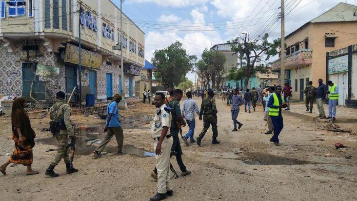 索马里拜多阿市发生自杀式袭击 造成至少4人死亡