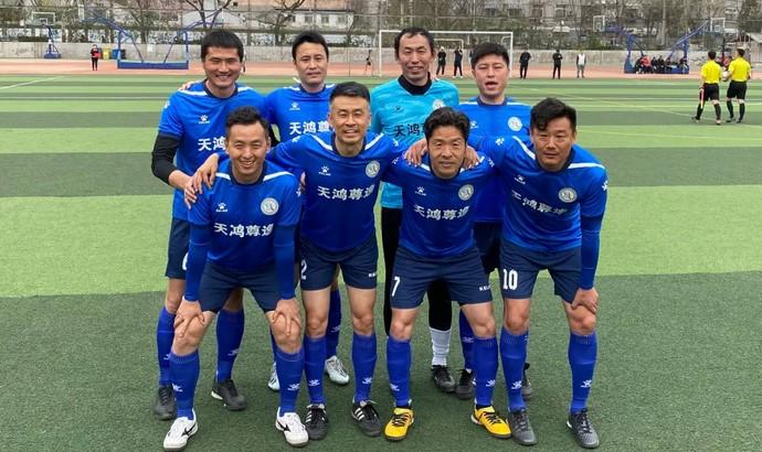 """徐云龙率""""最牛社区队""""5-0横扫对手,夺得西城中年组冠军"""