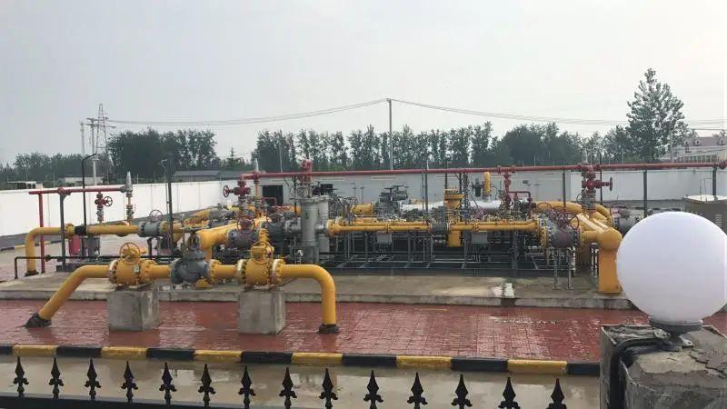 中国石化管道天然气进入苏北市场!