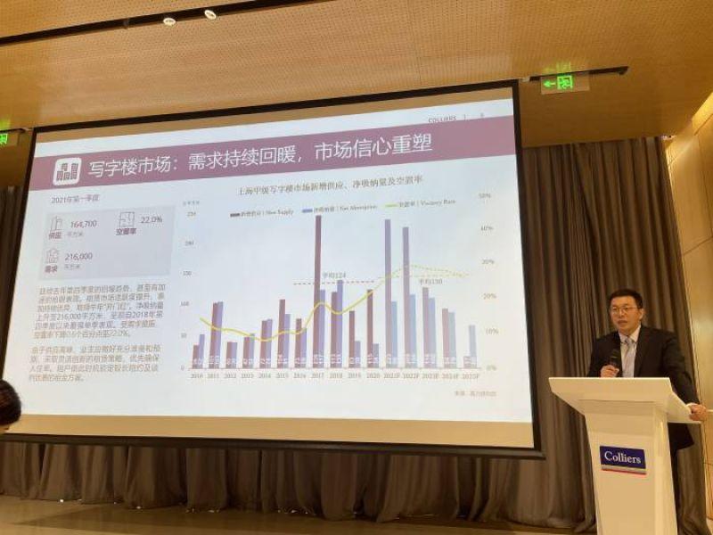 """上海商业地产市场一季度迎""""开门红"""" 机构:后期空置仍将上扬"""