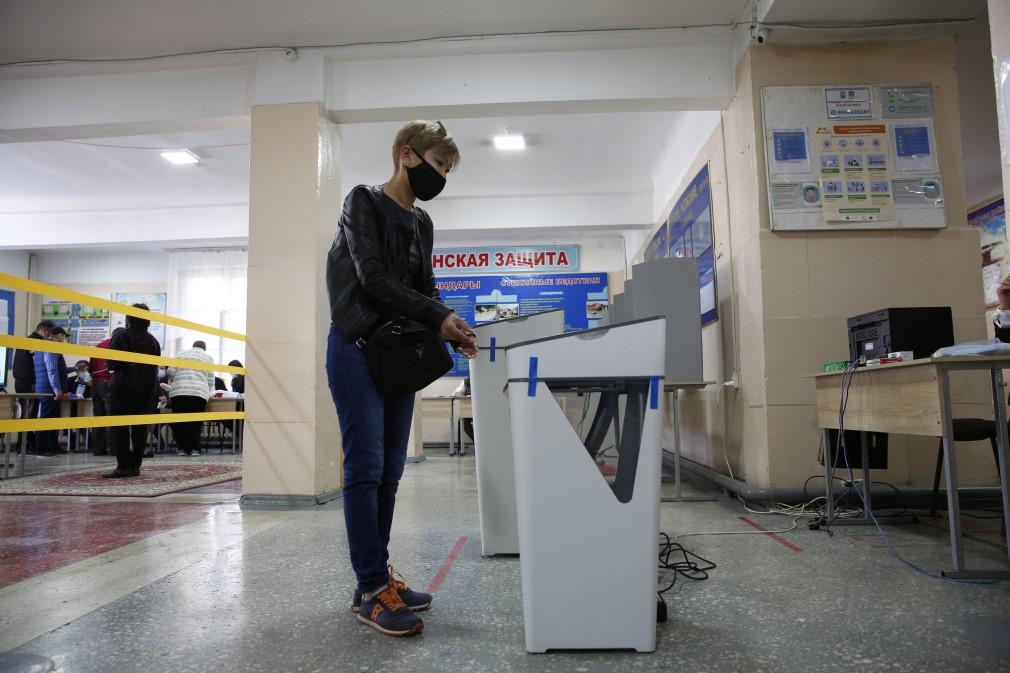 吉尔吉斯斯坦宪法修正案全民公决投票结束