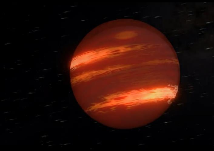 天文学家发现自转速度最快的褐矮星:每小时自转一次