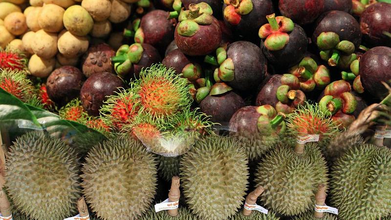 今年前2月泰国水果出口额同比增加107%