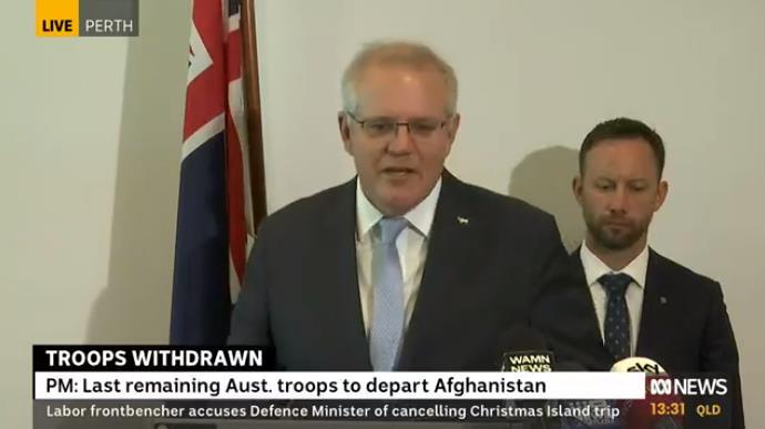 澳大利亚将从阿富汗撤军
