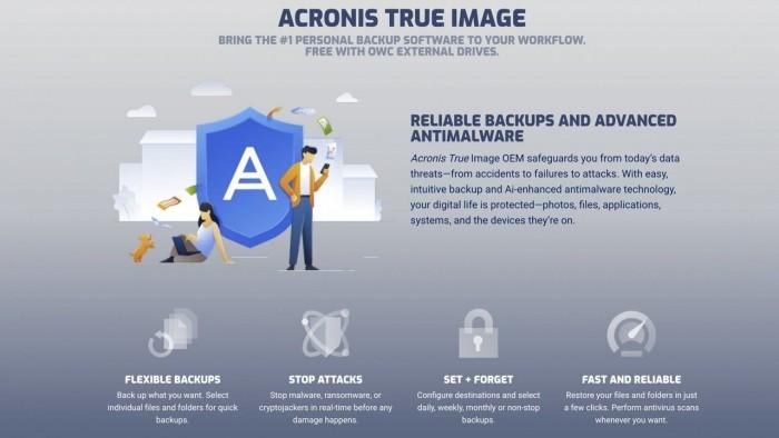OWC与Acronis合作 保护用户备份免受勒索软件攻击