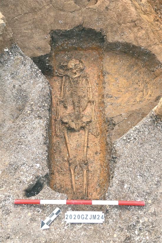 广州金兰寺遗址出土古人类遗骸增至34具