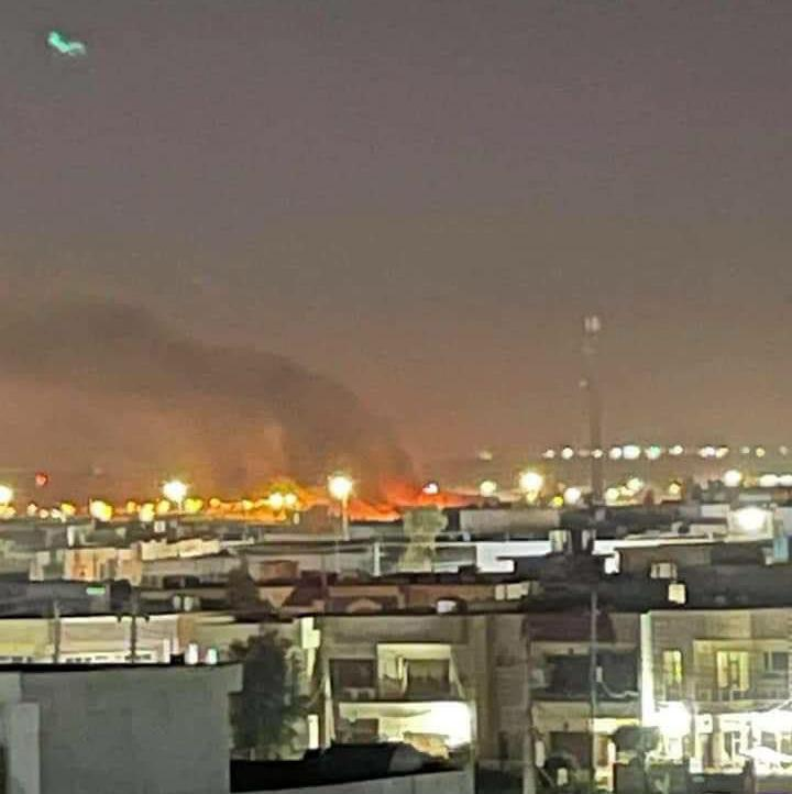 伊拉克埃尔比勒机场遭火箭弹袭击