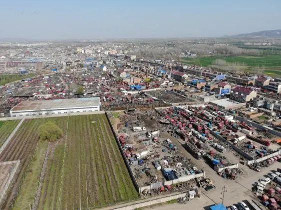 典型案例丨安徽省滁州市凤阳县机动车拆解行业监管缺失 环境污染严重